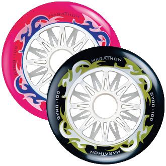 Колеса для роликовых коньков купить Gyro Marathon 90, 100 mm '10