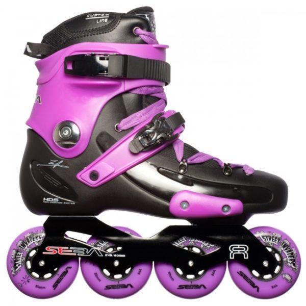 Фрискейт ролики купить Seba FR Deluxe Pink '12