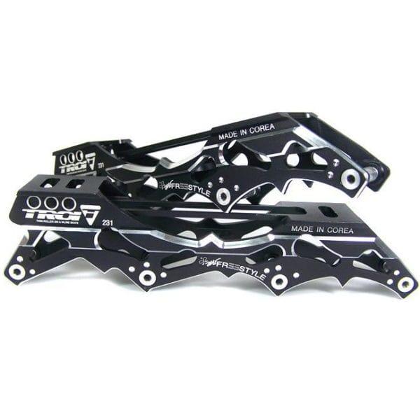 Рама для роликовых коньков купить Troi slalom frame Black '12